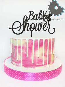 "Topper ""Baby shower"""